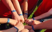 La course de couleurs à l'école de Grivegnée